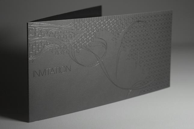 boss black / standard invitation